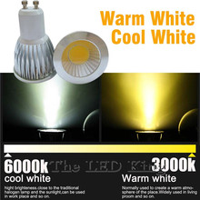COB Lampada Led Spotlight GU 10 220V Bombillas Led Lamp Focoe Refletor Ampoule Led Bulb Spot Light 3W 5W 7W Lampara Lampe Luz