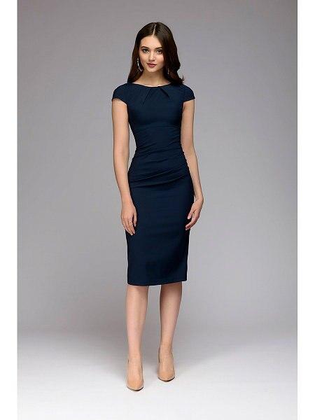Summer 2018 Dress Women Solid Slim dress Short Sleeve Office Business Dress Elegant Sheath Party Vestidos 4