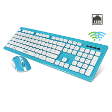 ZERODATE X1600 2.4G Wireless 104 Key Membrane Keyboard Mouse Combo Mice LED Backlit Gaming Remote Control For Pro Computer Gamer