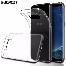 Ultra Thin Transparent Clear Soft Case for Samsung Galaxy S3 S4 S5 S6 S7 Edge S8 Plus TPU Case Silicone Cover Mobile Phone Cases(China)
