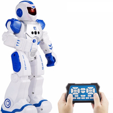 Remote Control Intelligent Robot Gesture Sensing Programming Charging Children Dancing Robot High Tech Toys Gift For Boy Toys(China)