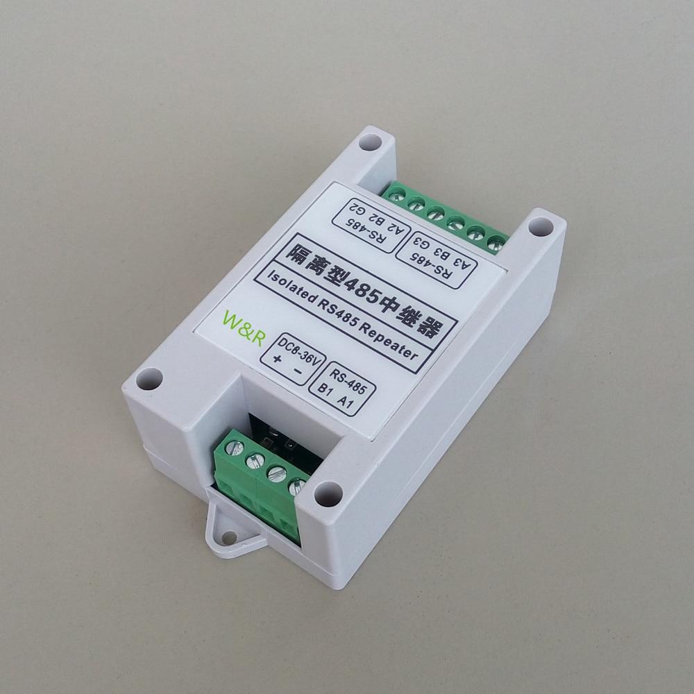 2  industrial / isolated /485 repeater / communication extension / amplifier DC/9V/12V/24V/36V<br>