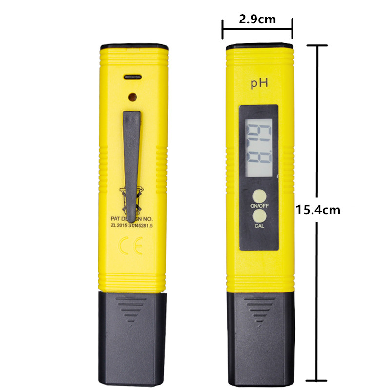 100pcs by dhl fedex Pen 0.01 LCD Acid aquarium Water Quality salt pool tester pH Meter Acidometer Analyzer with retail box %Of 2