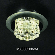 New product contracted and contemporary aluminum wire drawing crystal absorb Ceiling lights MX030508-3A  lamp