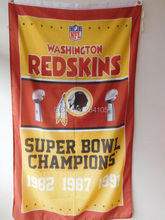 Washington Redskins Super Bowl Champions American Outdoor Indoor Basketball College Flag 3X5 Custom USA Any Team Flag
