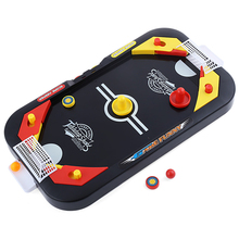 Mini Hockey Ball + English Football Ball Board Game 2 In 1 Sports Toys For Children Toys Desktop Games Christmas Gift Party Fun(China)