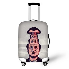 Prevent the impact to prevent scratches Montage thriller pattern luggage case travel must be soft and durable non-slip