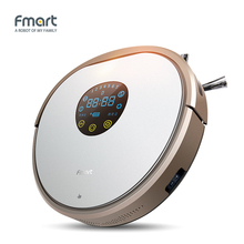 Fmart YZ-V2 Robot Vacuum Cleaner For Home Cleaning Appliances Intelligent Self-Charge Side Brushs Warehouse Aspirator(China)