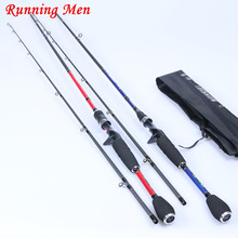 M/MH/H Action Japan Carbon Fiber 2.1m Red Blue White Spinning Casting Lure Fishing Rod
