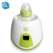 GL 220-240V Intelligent Baby Bottle Warmer NQ-808 for Food Milk Heater Keep Warmming Heaters with Bottle Brushes US EU Plug