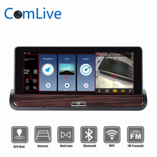 "Camlive Android 7"" V40 Full HD Car DVR GPS Touch Dual Camera WiFi function Auto Camera Car Center Console Bus Truck Car Camera"