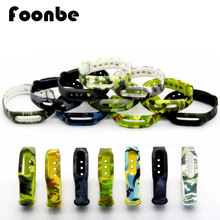 FOONBE Colorful Silicone Wrist Band Bracelet Wrist Strap For Xiaomi Miband Mi band 1 & 1S Smart Band