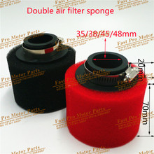 35/38/42/45/48mm  Straight Foam Air Filter Sponge Cleaner 50cc Moped Scooter CG125 150cc Dirt Bike Motorcycle