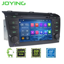 "7""Joying Double 2 Din Android 6.0.1 Quad Core 2GB+32GB 1024*600 Car Radio Stereo GPS Navigation For Mazda 3 2004~2008 Head unit"