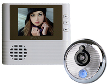 2.8'' Peephole Door Viewer Doorbell Doorphone Video Intercom Night Vision Home Security 3X Digital Zoom