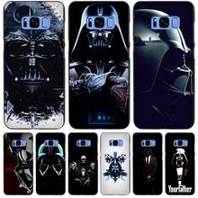 Darth Vader Star Wars Black Case Cover Shell Coque for Samsung Galaxy S3 S4 S5 Mini S6 S7 S8 Edge Plus S8+(China)