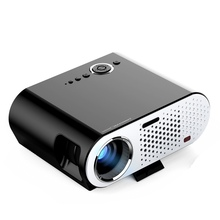 Hot 1280*800 LED lamp LCD Projector 3200 Lumens for Home Theater LED LCD Mini Multimedia Projector LED Video Movie USB TV HDMI