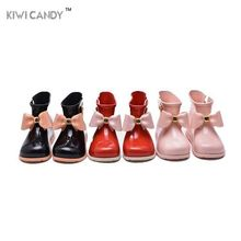 11.8-16.8cm girls rain Boot kids shoes Bow candy smell baby todder adorable girls fashion boots non slip water shoes Sapato