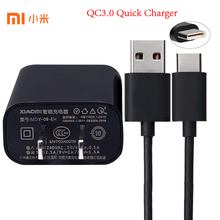 Original XIAOMI USB Quick Charger Adapter 12V/1.5A, Micro USB/TYPE-C Data Cable For Mi 4 4s 5 5s 6 Max 2 Redmi 3 3s 4 4A 4X(China)