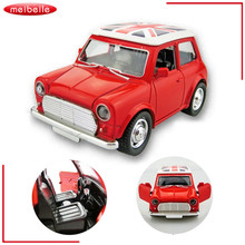 Toy Cars For Boys Mini Cooper Alloy Car Baby Kids Toys For Children Scale Models Pull Back Toys Boy Brinquedos Juguetes 2016