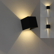 LED Waterproof Outdoor Indoor Wall Sconces Lamp Walllight IP67 Surface Mounted Cube Light --M25