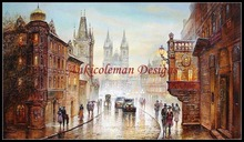 Needlework for embroidery DIY French DMC High Quality - Counted Cross Stitch Kits 14 ct Oil painting - On the Avenue