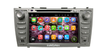 Android 5.11 Car Multimedia Player For CAMRY 2007-2011 auto radio double din with GPS navigation play shop google play