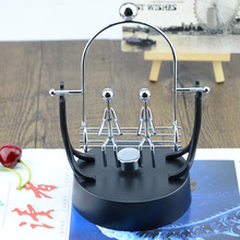 A Couple of Swing Metal Instrument Perpetual Wiggler Scientific Experiments Newton Cradle Energy Science Model Gift Ornaments