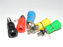 100pcs 5 Color 4mm Banana Binding Post Speaker terminals