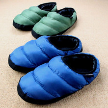 Winter Men&Women Slippers Home Plush Indoor Ladies Shoes House Female Fuzzy Black Slippers Flip Flops Slides(China)