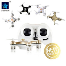 Cheerson CX-10A RC Quadcopter 2.4GHz 4CH NANO Drone UFO with Headless Mode Remote Control Helicopter Powerful Motor Mini Dron(China)