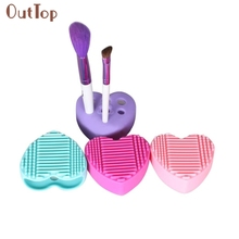 Hot Popular Amazing Silicone Egg Cleaning Glove Makeup Washing Brush Drying Racks Scrubber Tool Cleaner F17X18