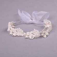 1PCS Cute Lovely Kids Children Elastic Lace Headband Baby Girls Flower Headband Hair Band Accessories Elegant Baby Clothing
