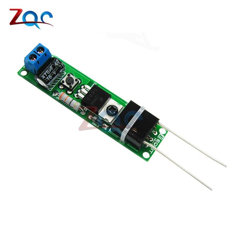 HV-1 High Voltage Igniter Kit Arc Ignition Parts DIY Kit Arc Generator Arc Cigarette Igniter Module PCB Board DC 3-5V 3A 7