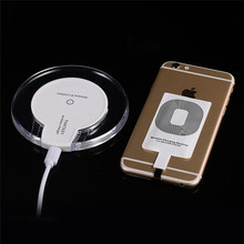 for iPhone 6 6s for Samsung Galaxy S7 WP020 Magic Disk Universal Qi Wireless Charger Dock for IOS Android Smart Phone(China)