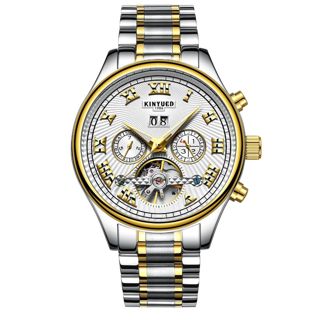 White Watches Men Business Quartz Wristwatch Large Three Eyes Analog Dial Male Watch Luxury Men Watches 2018 Adjustable Steel<br>