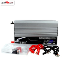 5000W Car Power Inverter DC 12v/24v/48v To AC 220V Pure Sine Wave 5KW Power Inverter Use In Car/ Truck/ Boat(China)