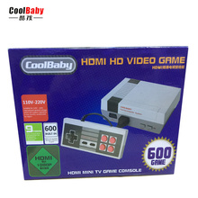 Coolboy HDMI Out Retro Classic Game Player Family TV Video Game Consoles Childhood Built-in 600 Double handle control HD game(China)