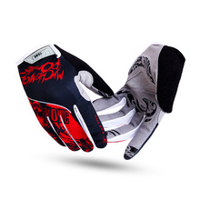 FOX Cycling Gloves Bicycle Sports Full Finger Touch Screen Gloves Pad Shock Absorption Bicycle Gloves Men Road Motocross Glove