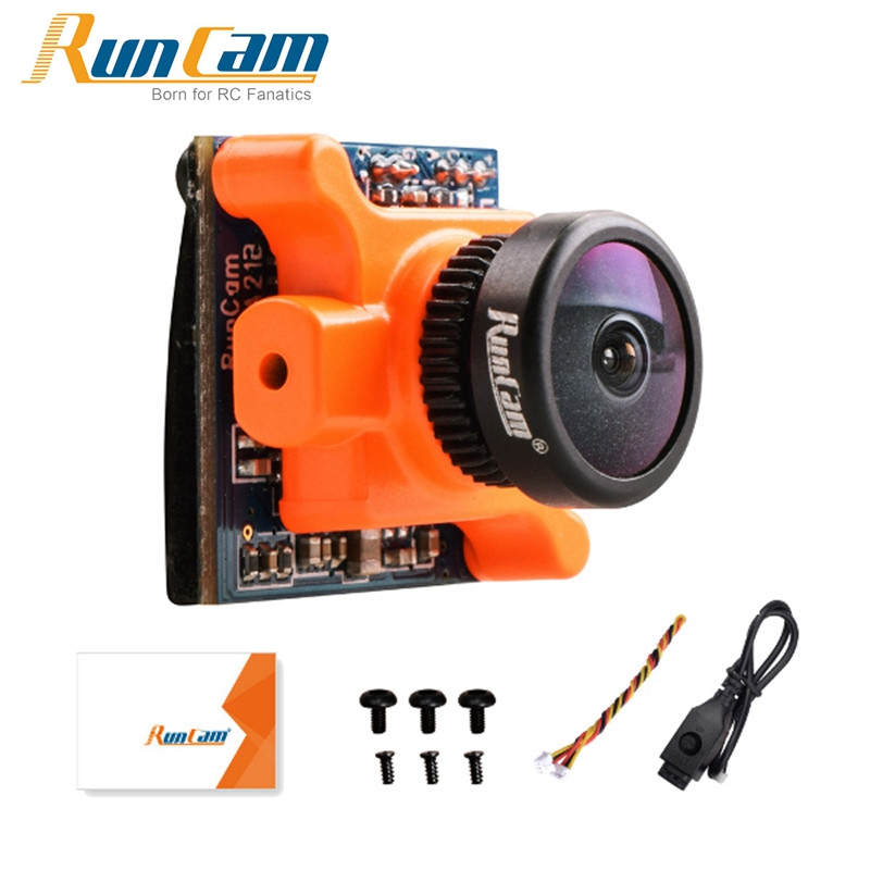 In Stock RunCam Micro Sparrow WDR 700TVL 1/3 CMOS 2.1mm FOV 145 Degree 16:9 FPV Action Camera NTSC / PAL Switchable for RC Drone<br>