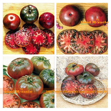Rare Black Krim Tomato Seed, 200 Seed/Pack, Extremely tasty Fruit Tomatoes Seed Heirloom Vegetables Bonsai Seed-Land Miracle