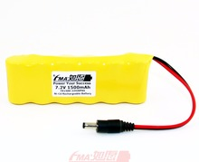 Ni-Cd Sub C 7.2V 1500mAh Floor Sweeper Rechargeable Battery 23430P6SB