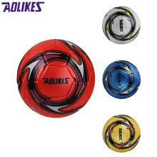 Aolikes PVC Soccer Balls Official Size 5 Football Goal League Ball Outdoor Sports futbol voetbal Training Competition Burable(China)