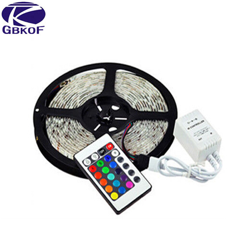 Shenzhen supplier Promotion 5M 300 LED 3528 SMD RGB Led Strip White Blue Yellow Green Red LED light for light up party supplies(China (Mainland))
