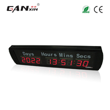 [Ganxin]1.8'' Led Customized Design Days Hours Minutes Timing Clock(China)