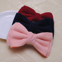 1Pc Women Hair Accessories High Quality Hair Clips Big Ribbon Bows Hairpins Korean Style Barrettes(China)