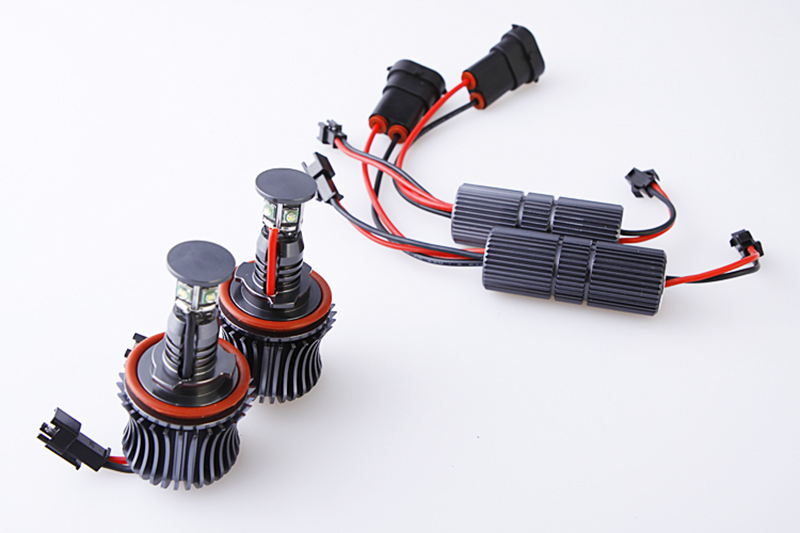 1SET H8 2*20W LED Marker Angel Eyes E87 E82 E92 M3 E93 E70 X5 E71 X6 for BMW Car LED headlight Car-styling Auto parts tuning<br><br>Aliexpress