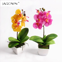 small butterfly orchid artificial flower set real touch orchid artificial plants overall floral artificial flower for wedding