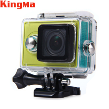 Sport Action Camera Accessories Kingma 60M Waterproof Professional Cover Case For Xiaomi Yi Action Sport Camera