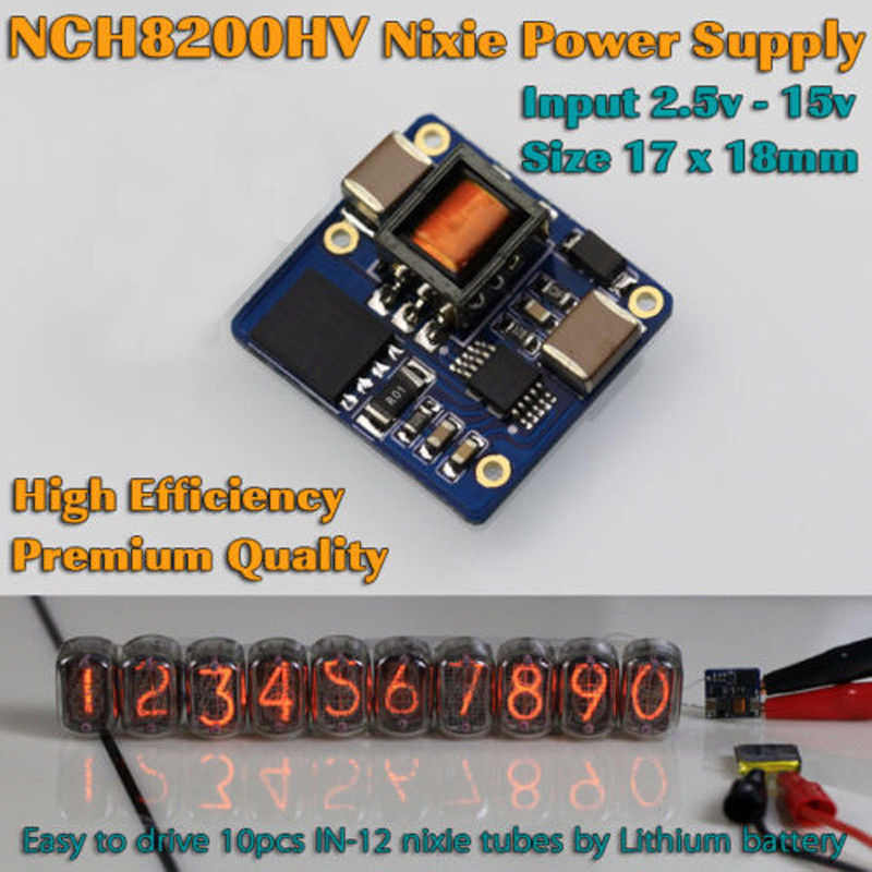 detail feedback questions about new version pluggable in 14 singlench8200hv high voltage boost module dc power glow tube clock for nixie tubes 2 5 15v